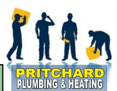 34 To advertise call 350398 www.overleighroundabout.co.uk PRITCHARD PLUMBING&HEATING Over 15 years experience in