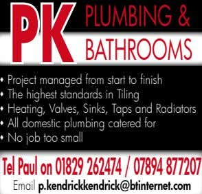 PLUMBING& PK BathrooMs s Project managed from start to finish s The highest standards in
