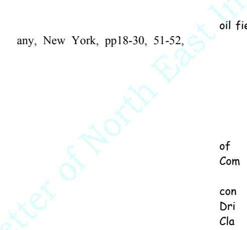 oil any, New York, pp18-3 0, 5 1-52, Olphen, H., 1977. An introduction clay colloid