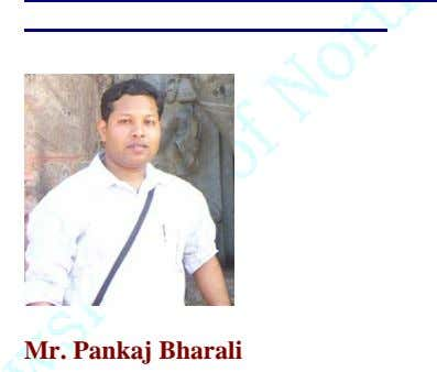 Mr. Pankaj Bharali