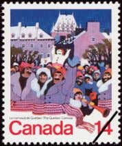 Trudeau b. Pierre Trudeau 27 Visitors enjoy many outdoor activities at the Winter Carnival in a.