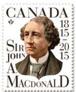 was Sir John A. Macdonald. of a. president b. prime minister 29 Canada's more than 40