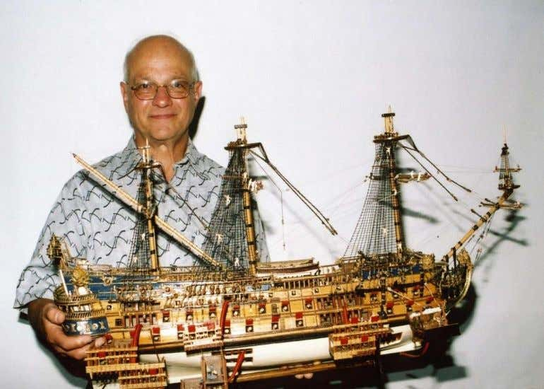 Model Ship Building You don't have to go to Rhode Island to see magnificent models. This