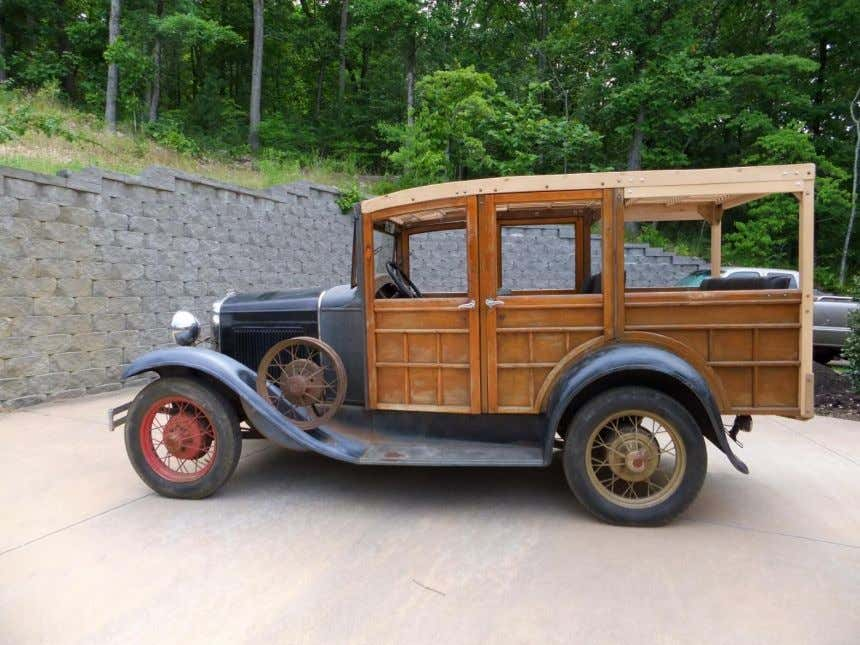 Spinoff Projects 1931 Model A Ford Woody Wagon Restoration