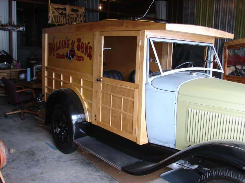 Spinoff Projects 1931 Model A Ford Express Delivery Van