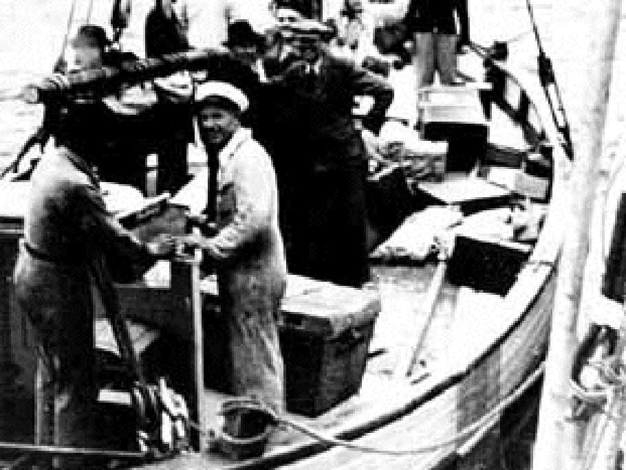 Danish fishermen in boats like this one rescued over 7,200 Jews from the Nazis by