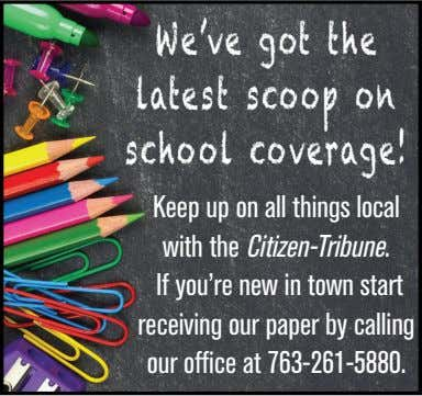 We've got the latest scoop on school coverage! Keep up on all things local with the