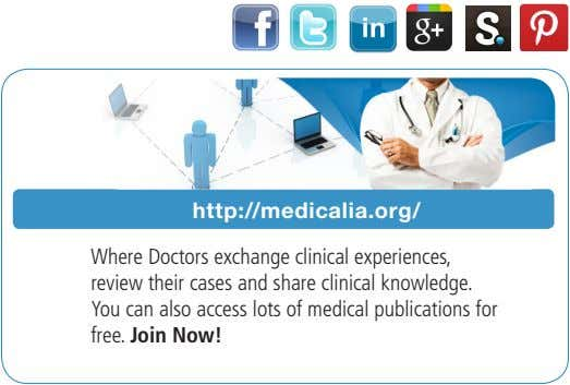 http://medicalia.org/ Where Doctors exchange clinical experiences, review their cases and share clinical knowledge. You