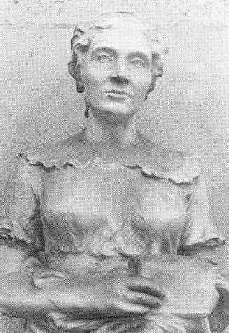 Figure 1: Sophie Germain: a bust by Z. Astruc known for towards proving part of