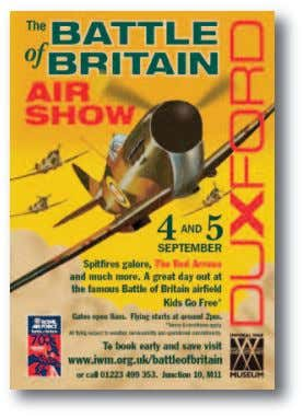 of Britain static museum display in one of its hangers. The RAF Museum at Hendon has