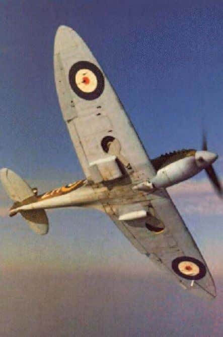 canopy than the Me109 and mostly better than the Hurricane. Modern photo of Mk II Supermaine