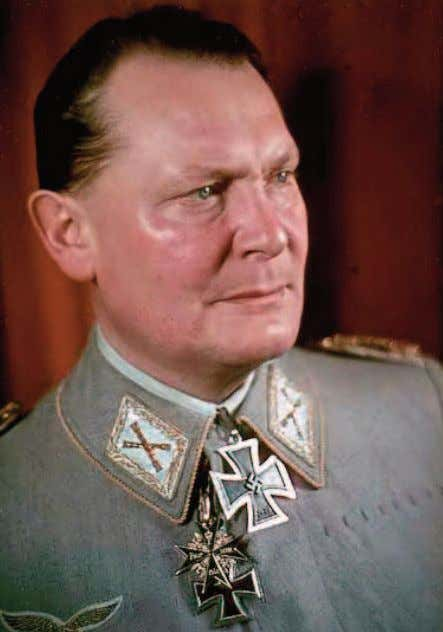 of the Luftwaffe) and his subordinate Albert Kesselring. Hermann Goering (Göring) was proud to wear his