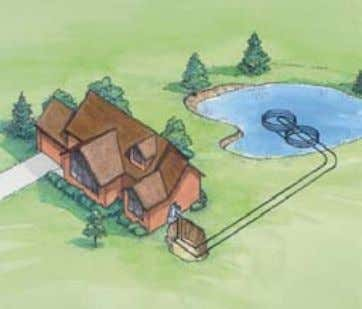 of coils: Depth of pond where coils are located: Pipe size: Water Supply for all Closed