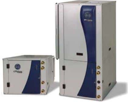 FOR UNITS, OPTIONS & ACCESSORIES envision Series units As our latest flagship product, WaterFurnace Envision Series