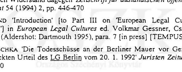 Recht und Völkerrecht 54 (1994) 2, pp. 446^170 Armin HÖLAN D 'Introduction' [to Part III on