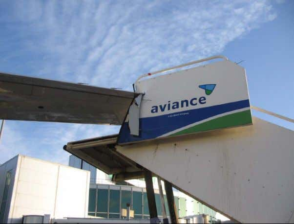 Courtesy NASA air safety reporting system. Figure 4. Typical damage to a wing tip like this