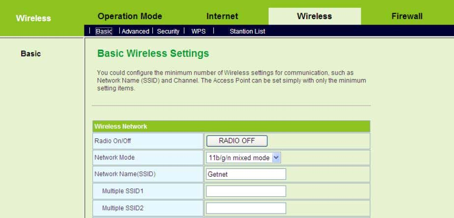 s, please refer to 5.4 Wireless Settings (Gateway Mode). Note: After your wireless network card connects