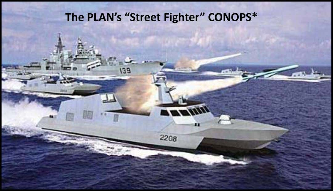 "The PLAN's ""Street Fighter"" CONOPS*"