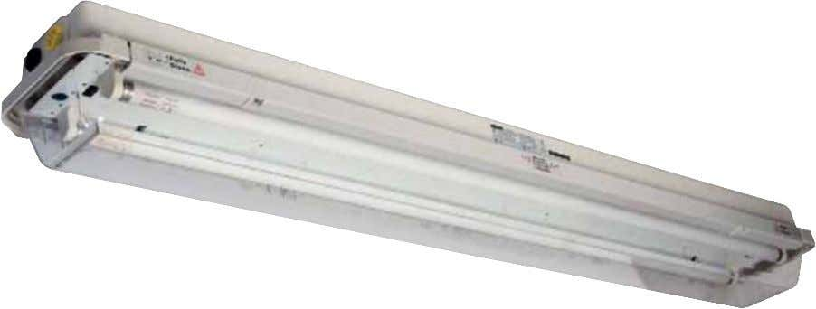 The Protecta is a proven and reliable T8 fluorescent luminaire. The Protecta's rugged, corrosion resistant