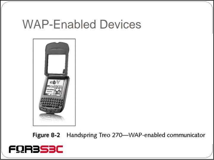 WAP-Enabled Devices