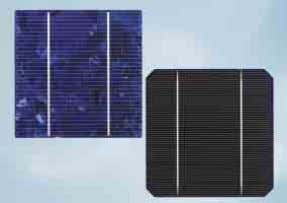 which set new standards in design and efficiency. Solarzellen Solar cells Modulaufbau Module composition