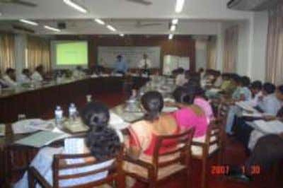 Authorities in each of the 17 districts, in this regard. Fig. 2 : Inception Workshop held
