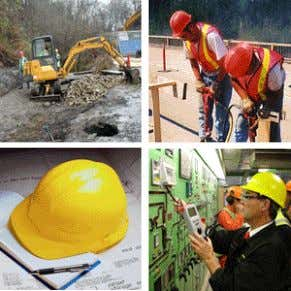 Transco employees must wear their PPE, including safety shoe, hard hat, high vis jacket and any