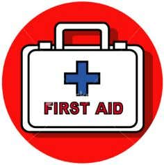 time to find the location of your nearest first aid box. If your job requires you