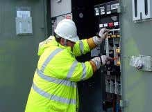 that you may be exposed to while working for Transco are:-  Working with electricity 