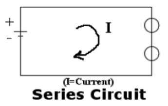 icity to flow throughout a circuit.  Series Circuits In a series circuit, electricity has only