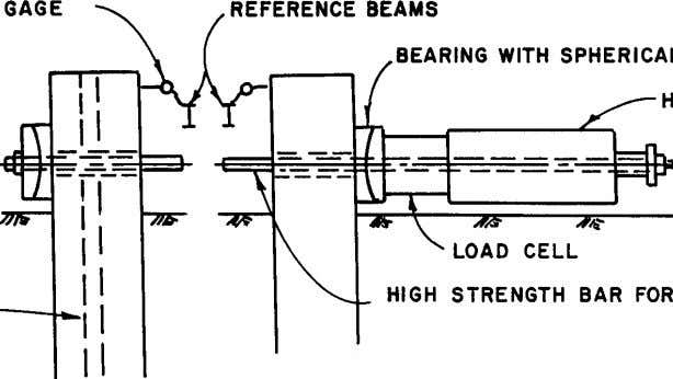 GAGE REFERENCE BEAMS STRENGTH BAR FOR