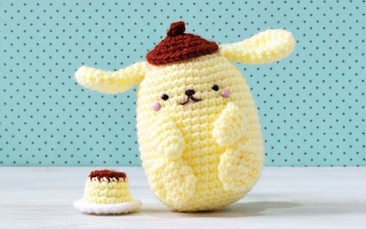 kkkkkk Purin's Pudding Bonus Pattern from Hello Kitty Crochet by Mei Li Lee Start with