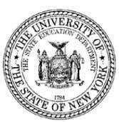 THE STATE EDUCATION DEPARTMENT / THE UNIVERSITY OF THE STATE OF NEW YORK / ALBANY,