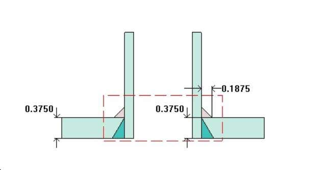 Nozzle C (C) ASME Section VIII Division 1, 2010 Edition Note: round inside edges per UG-76(c)