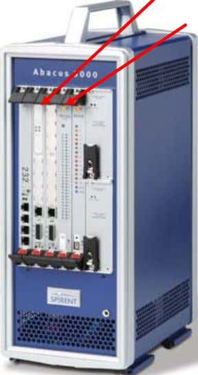 Fast Ethernet (RJ45) Back Cards T1 (RJ48) Trunking Gateway Abacus 5000 PCG3 System Controller Factory Default