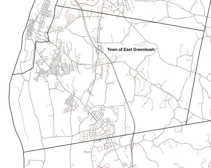 Figures 6 Figure 12 (above) – New East Greenbush Roads 1991 to 2011 35