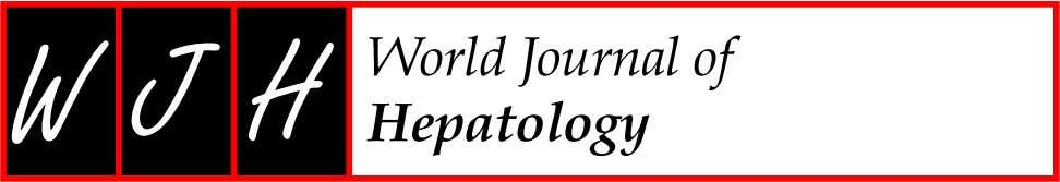 Online Submissions: http://www.wjgnet.com/1948-5182office wjh@wjgnet.com doi:10.4254/wjh.v3.i5.99 World J Hepatol 2011