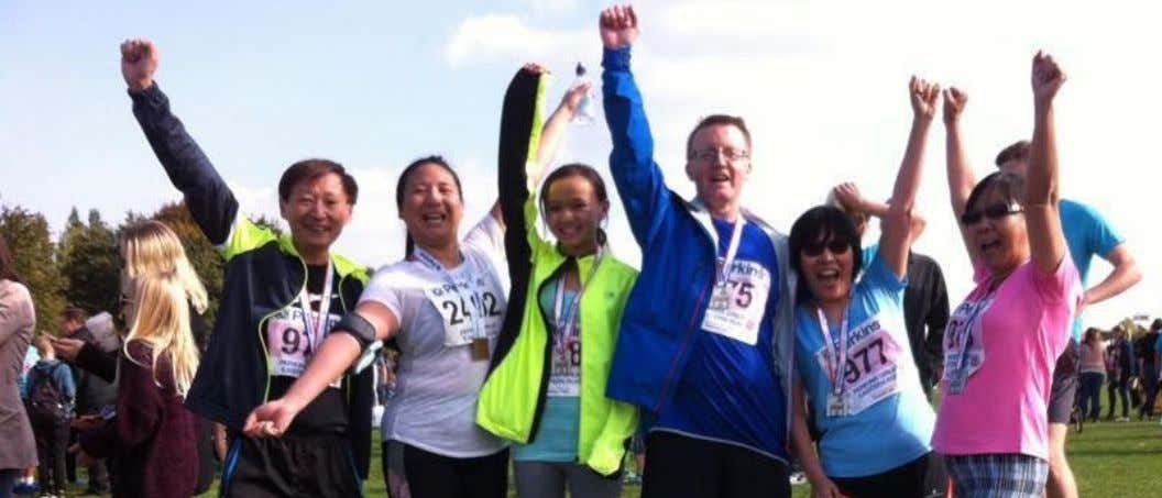 A team of runners from CDA's Peterborough Deaf Drop in took part in the Great