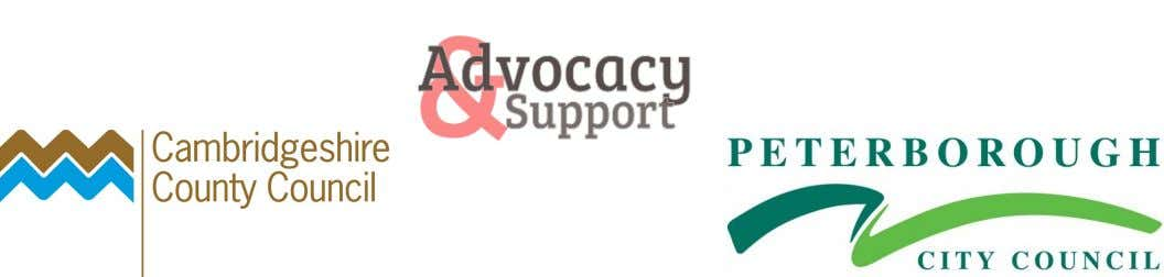by Cambridgeshire County Council. We provide Care Act Advocacy for deaf people in the Peterborough City