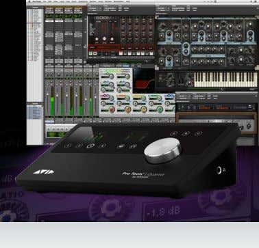 Pro Tools | Quartet Your personal professional music studio For musicians, engineers, producers, sound designers,