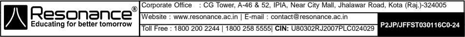Corporate Office : CG Tower, A-46 & 52, IPIA, Near City Mall, Jhalawar Road, Kota
