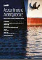 an issue of Accounting and Auditing Update or First Notes Issue no. 9/2016 – Transport, Logistics