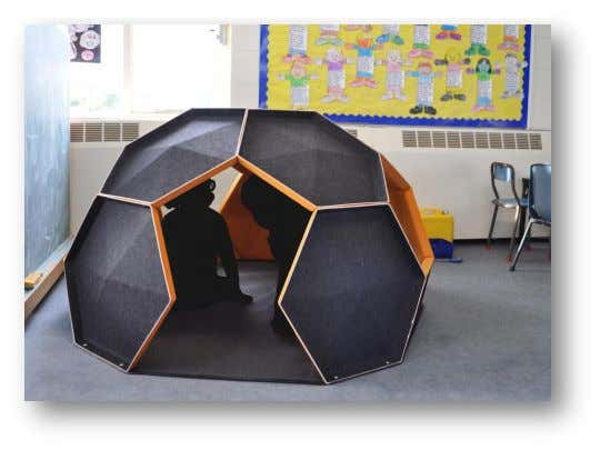 and classrooms. Figure 18: Kids playing in the 'Igloo' installed in Kaori Normal classroom Page 22