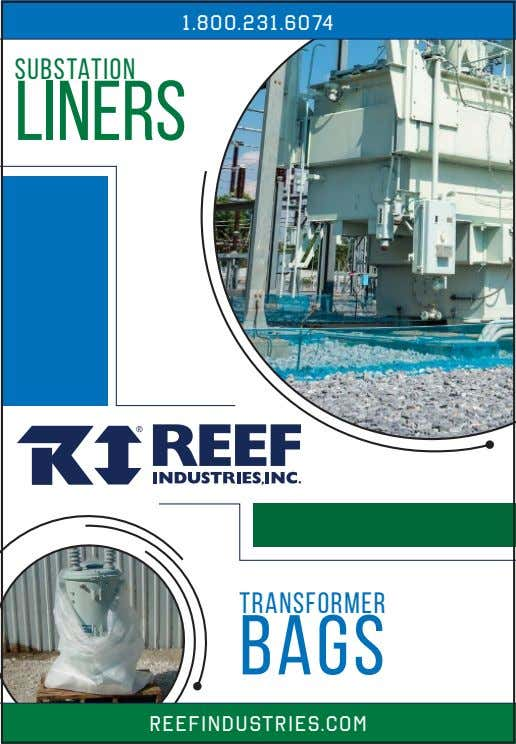 1 .800.23 1 .6074 substation liners Transformer Bags reefindustries.com