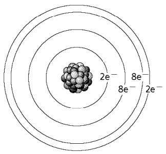A Use the figure below to answer the following questions. 17. How many valence electrons does