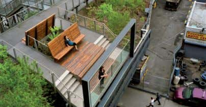 Sankt Pauli, Hambourg, Allemagne Acteurs : habitants Nom : High Line Auteur : Friends of the