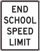 California Manual for Setting Speed Limits Figure 2-6: Signs for School Areas S3-1 S4-5 R2-1 S5-3
