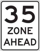 California Manual for Setting Speed Limits • Subsequent signs should then be posted on approximate five-t