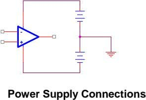 - + Power Supply Connections