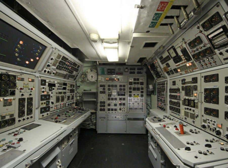 station control room. Oh, wait, it is. Along with all the other moving and dangerous parts